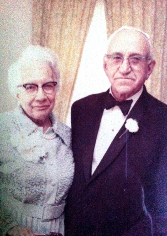 Grandparents Etta and Meyer Switzer